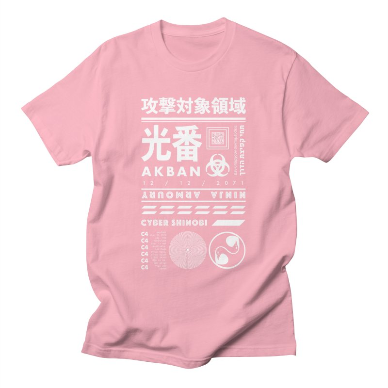 AKBAN White Cyberpunk hazard - Attack Surface Women's T-Shirt by AKBAN Core Official