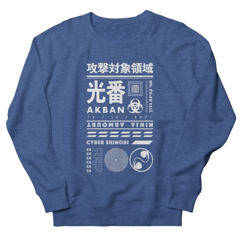 AKBAN White Cyberpunk hazard - Attack Surface Women's Sweatshirt by AKBAN Core Official