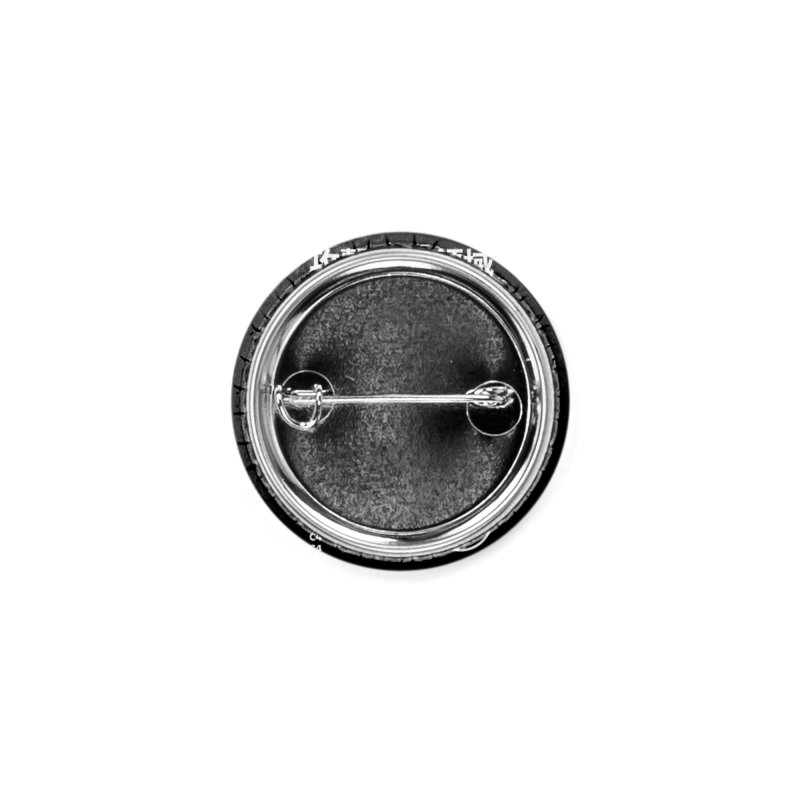 AKBAN White Cyberpunk hazard - Attack Surface Accessories Button by AKBAN Core Official