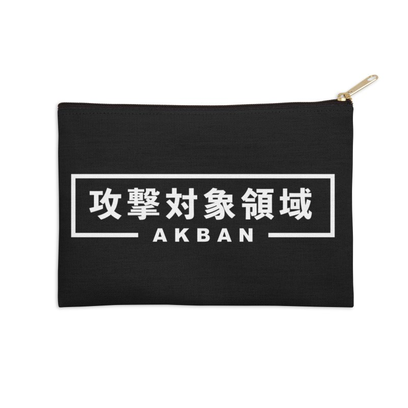 Attack surface AKBAN Accessories Zip Pouch by AKBAN Core Official