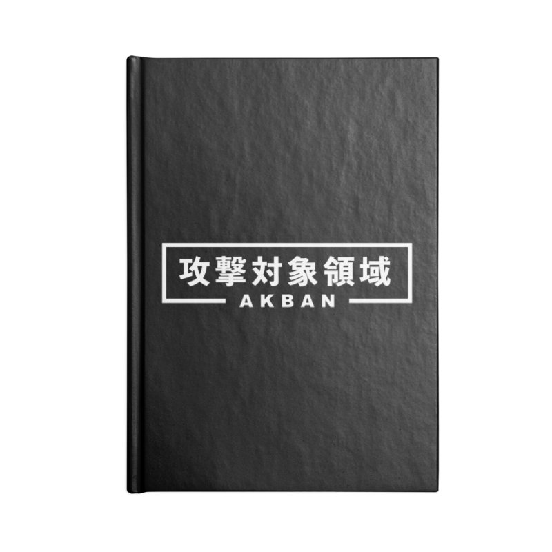 Attack surface AKBAN Accessories Notebook by AKBAN Core Official
