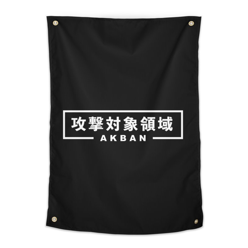 Attack surface AKBAN Home Tapestry by AKBAN Core Official