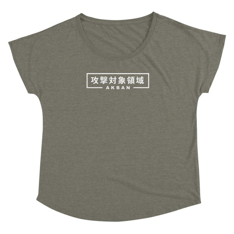Attack surface AKBAN Women's Scoop Neck by AKBAN Core Official