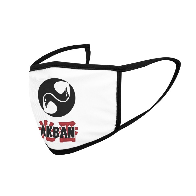 Huge AKBAN logo for big hearted warriors Accessories Face Mask by AKBAN Core Official