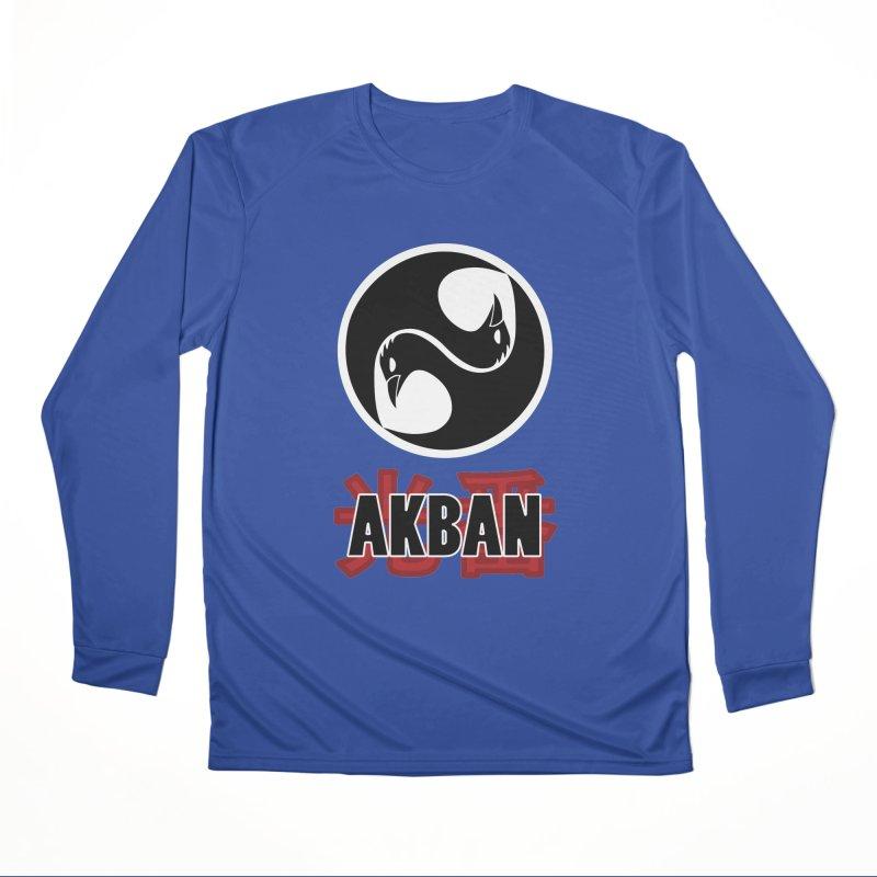 Huge AKBAN logo for big hearted warriors Women's Longsleeve T-Shirt by AKBAN Core Official