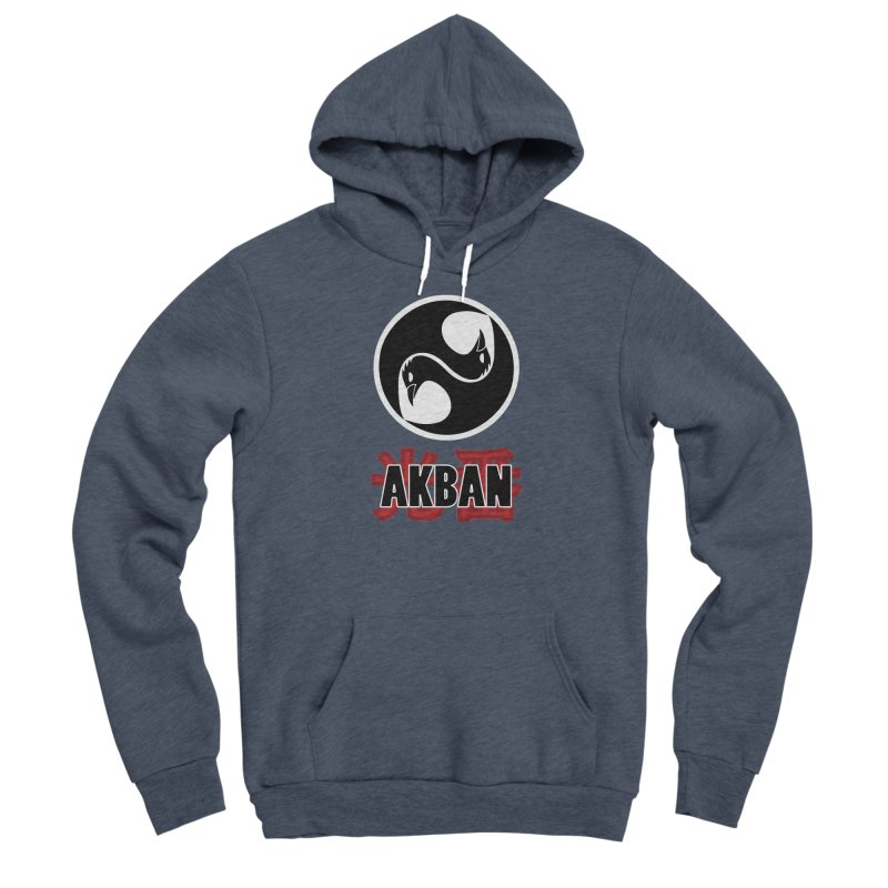 Huge AKBAN logo for big hearted warriors Men's Pullover Hoody by AKBAN Core Official