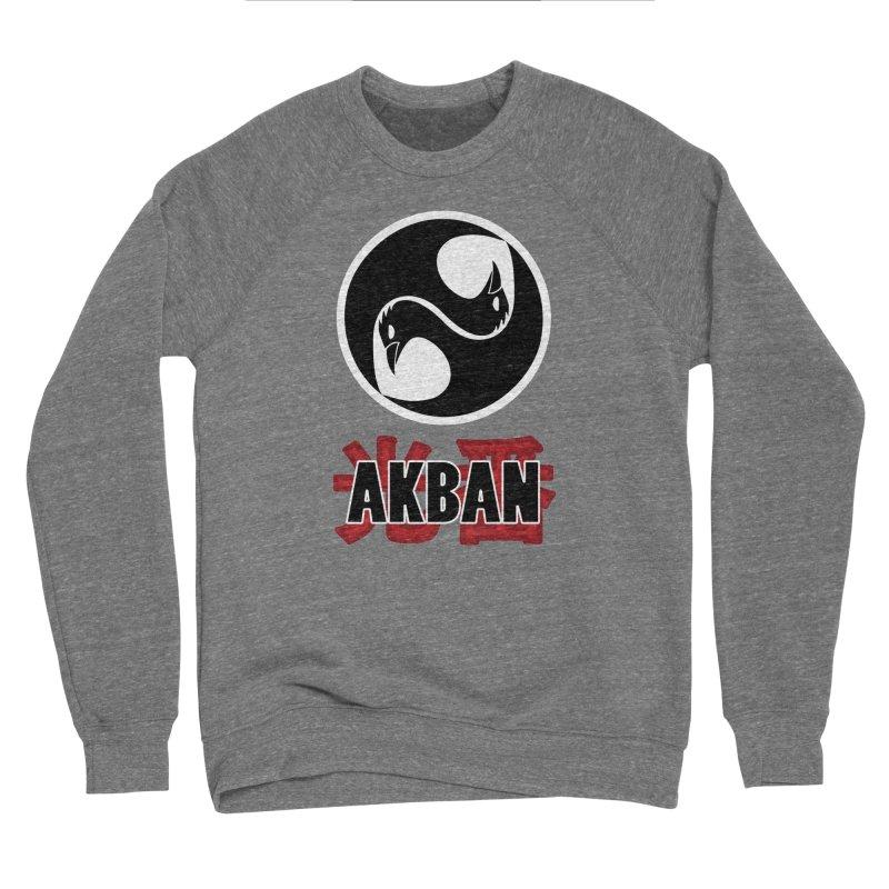 Huge AKBAN logo for big hearted warriors Women's Sweatshirt by AKBAN Core Official