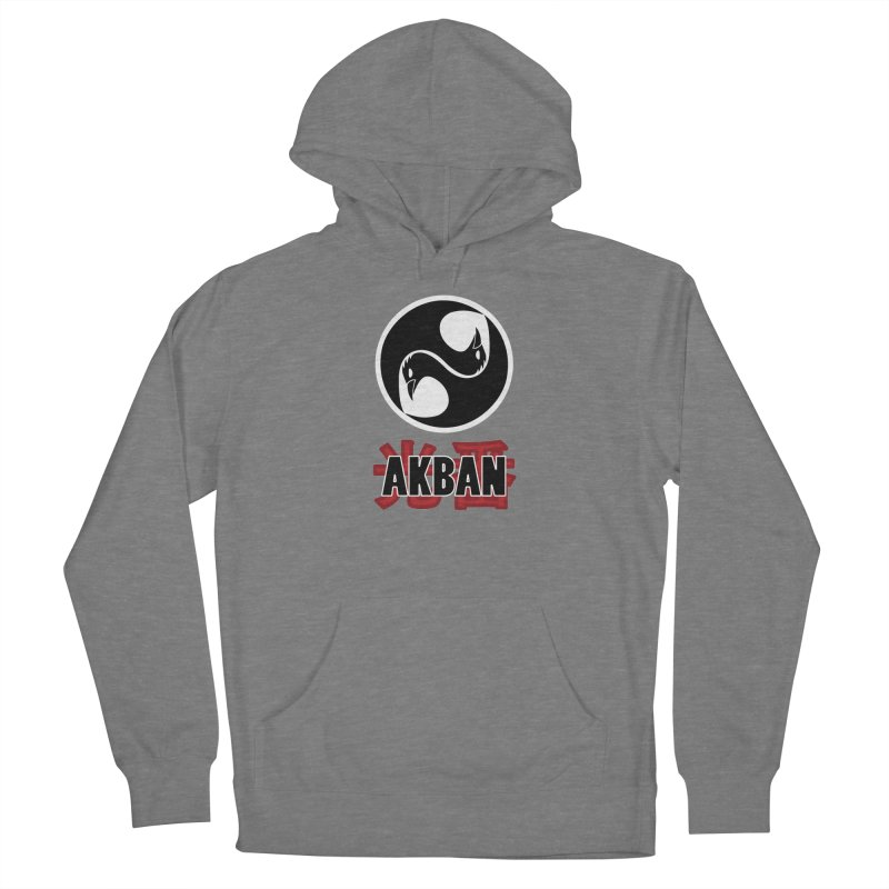 Huge AKBAN logo for big hearted warriors Women's Pullover Hoody by AKBAN Core Official