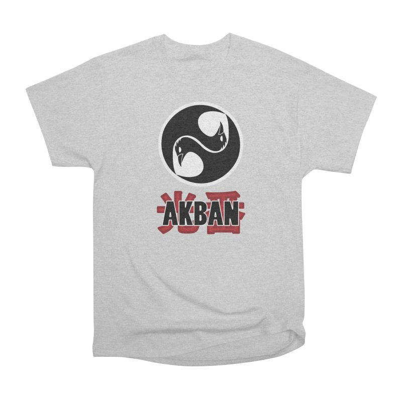 Huge AKBAN logo for big hearted warriors Women's T-Shirt by AKBAN Core Official
