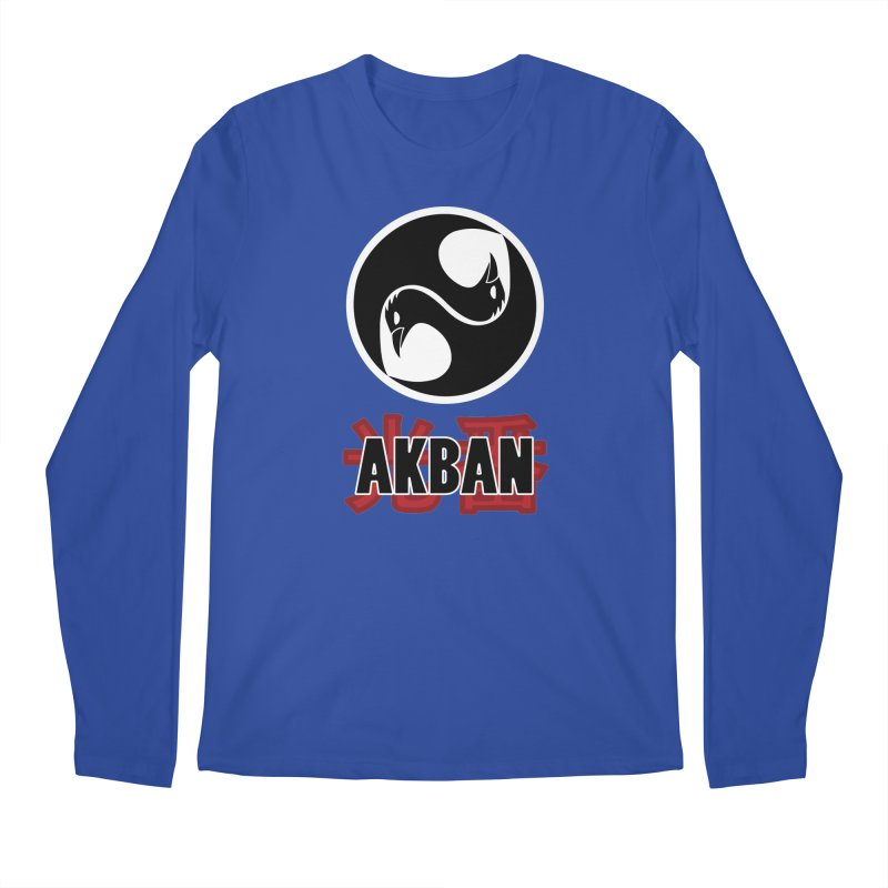Huge AKBAN logo for big hearted warriors Men's Longsleeve T-Shirt by AKBAN Core Official
