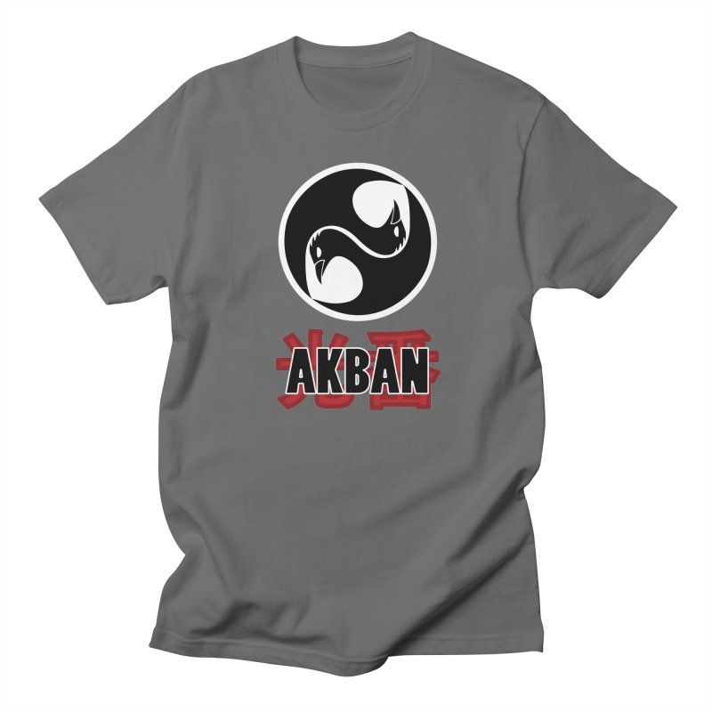 Huge AKBAN logo for big hearted warriors Men's T-Shirt by AKBAN Core Official