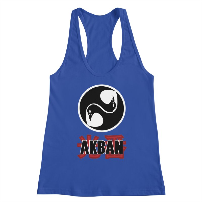 Huge AKBAN logo for big hearted warriors Women's Tank by AKBAN Core Official