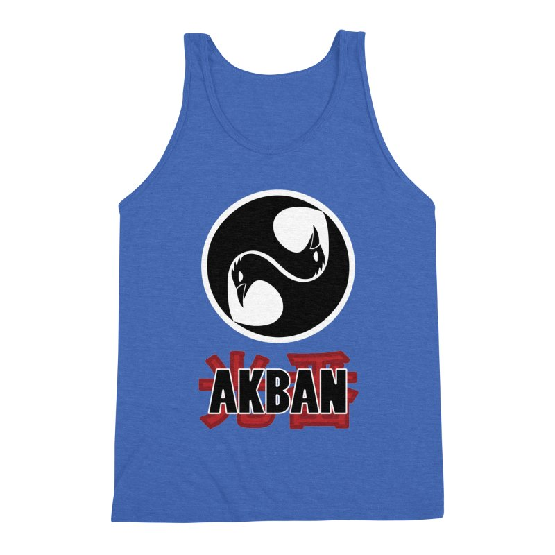 Huge AKBAN logo for big hearted warriors Men's Tank by AKBAN Core Official