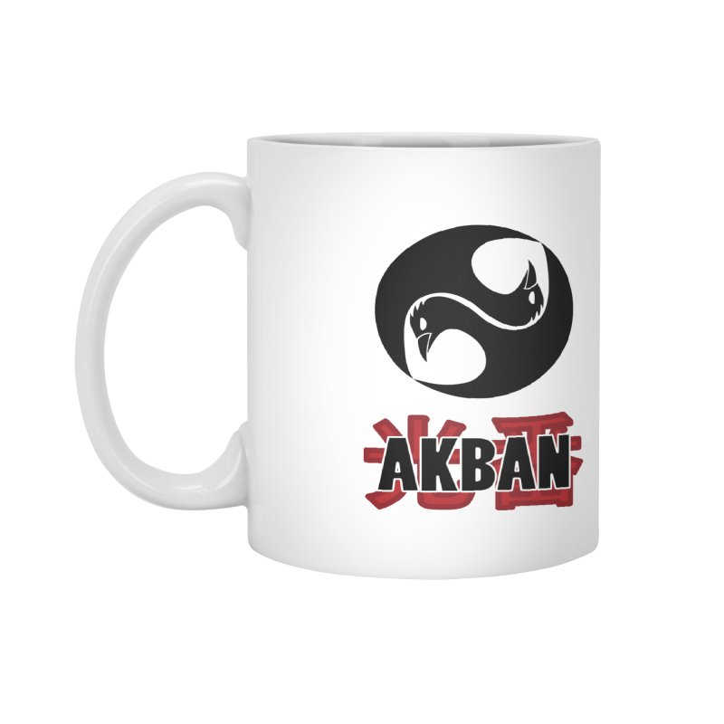 Huge AKBAN logo for big hearted warriors Accessories Mug by AKBAN Core Official