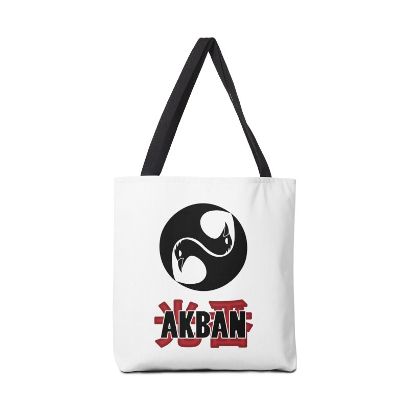 Huge AKBAN logo for big hearted warriors Accessories Bag by AKBAN Core Official