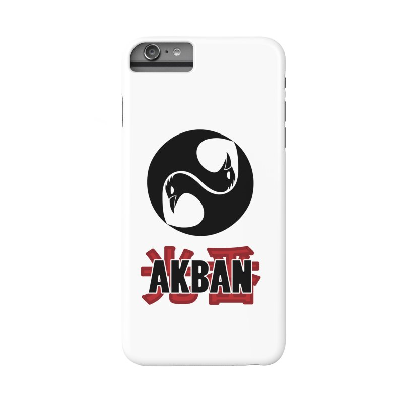 Huge AKBAN logo for big hearted warriors Accessories Phone Case by AKBAN Core Official