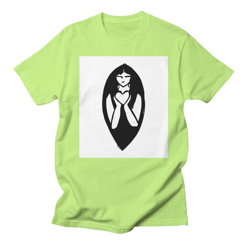 AKHILA FOUND - FONDATION AKHILA  Men's Regular T-Shirt by akhilafound's Artist Shop