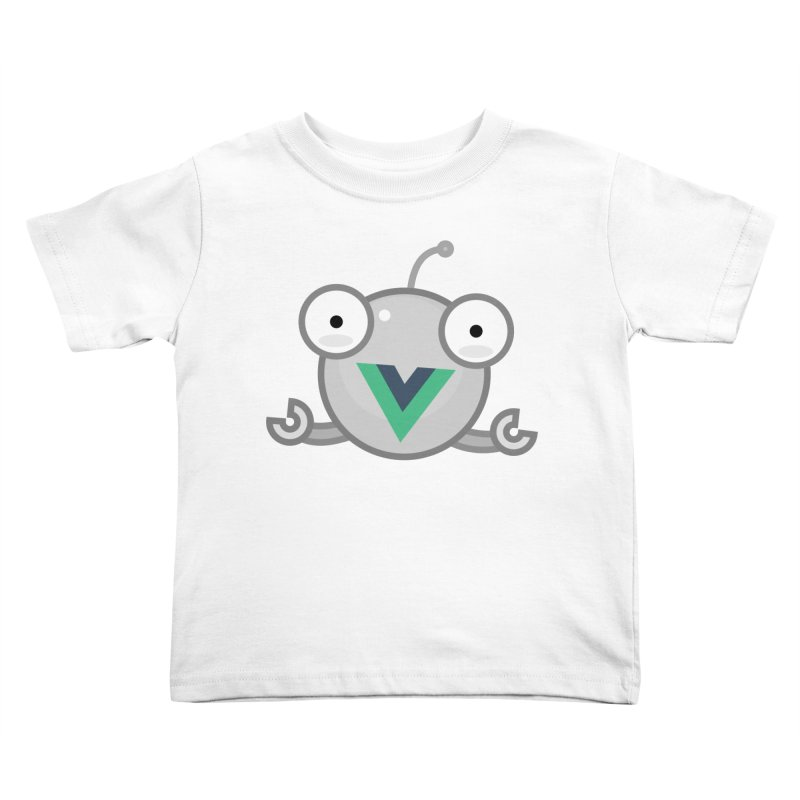 vue-bot Kids Toddler T-Shirt by Akryum's Shop