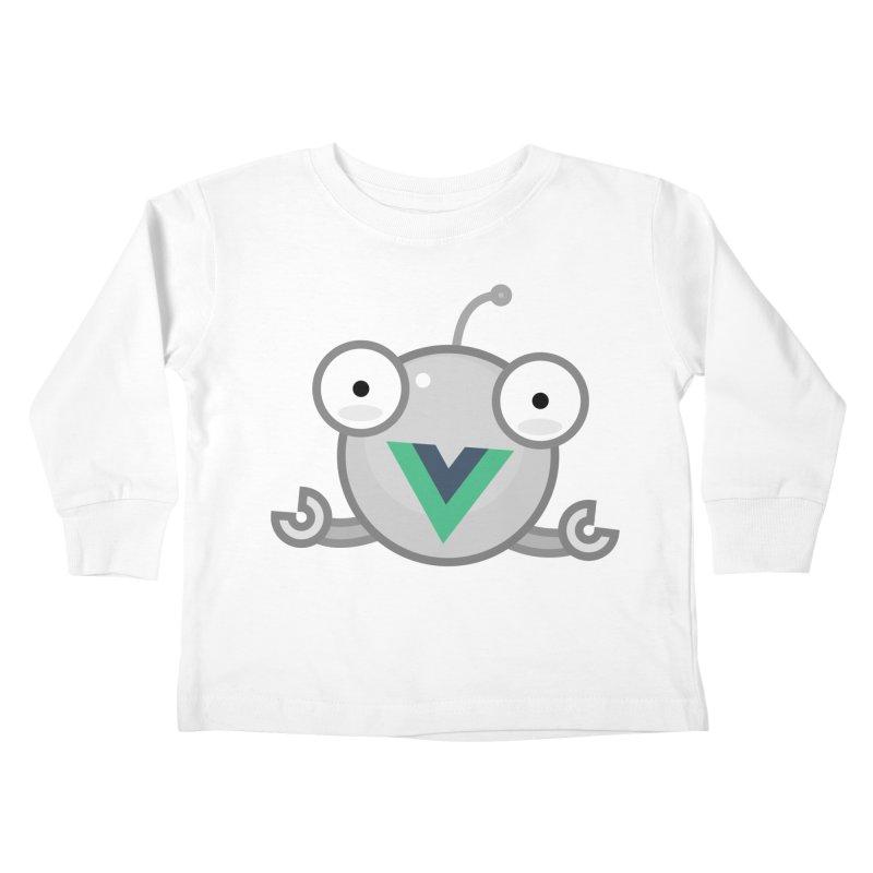 vue-bot Kids Toddler Longsleeve T-Shirt by Akryum's Shop