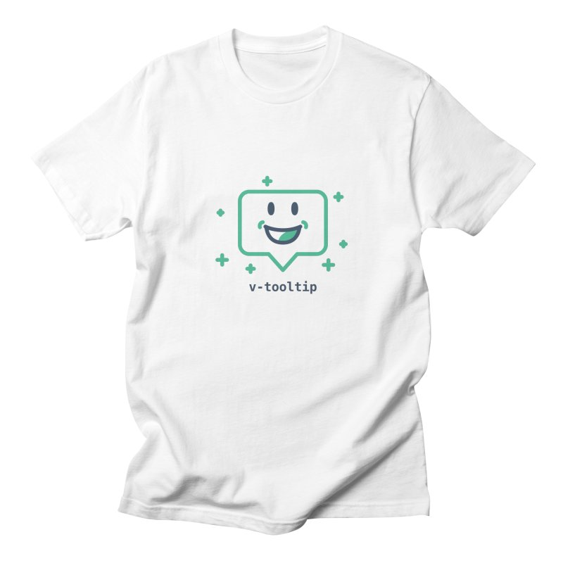 v-tooltip Women's Regular Unisex T-Shirt by Akryum's Shop