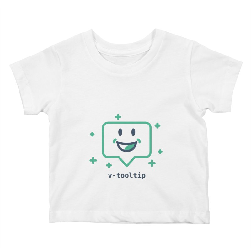 v-tooltip Kids Baby T-Shirt by Akryum's Shop