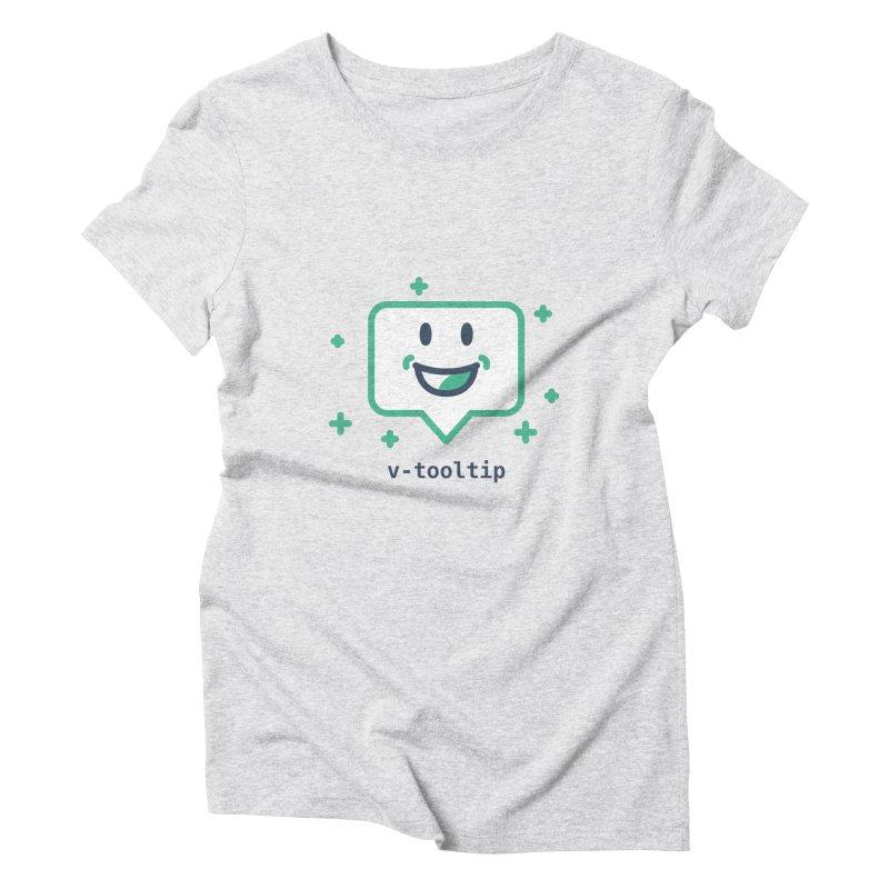 v-tooltip Women's Triblend T-Shirt by Akryum's Shop