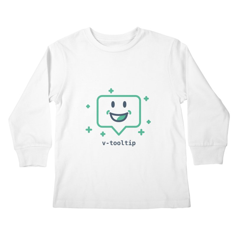 v-tooltip Kids Longsleeve T-Shirt by Akryum's Shop