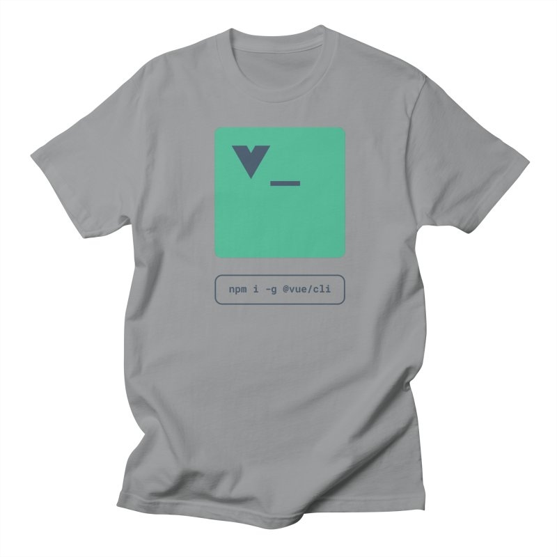 vue-cli Women's Regular Unisex T-Shirt by Akryum's Shop
