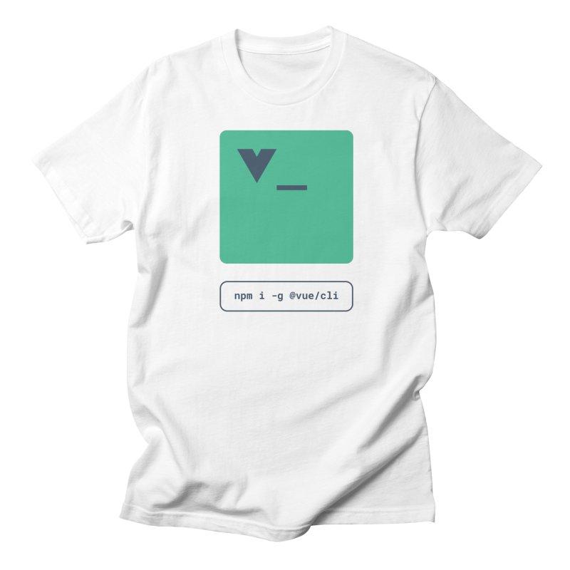 vue-cli Women's Regular Unisex T-Shirt by Akryum's Shop