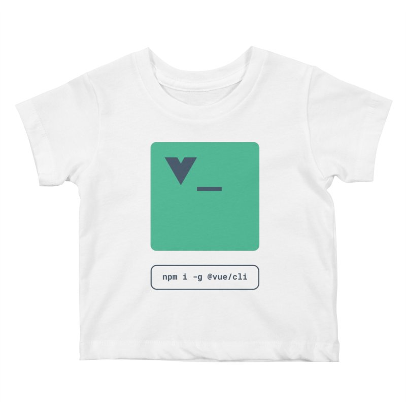 vue-cli Kids Baby T-Shirt by Akryum's Shop