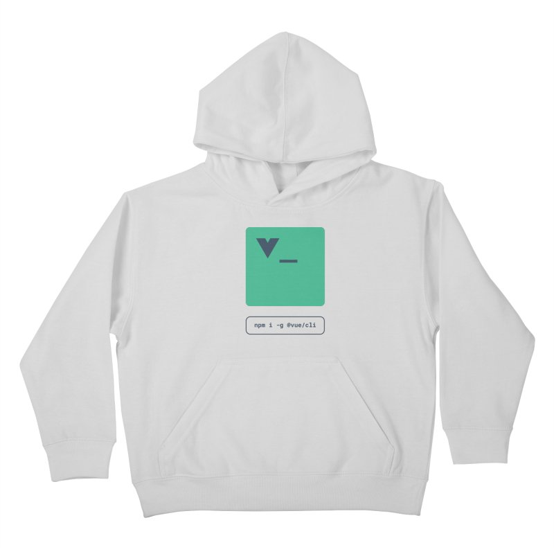 vue-cli Kids Pullover Hoody by Akryum's Shop