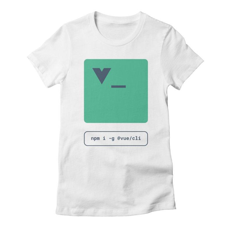vue-cli Women's T-Shirt by Akryum's Shop