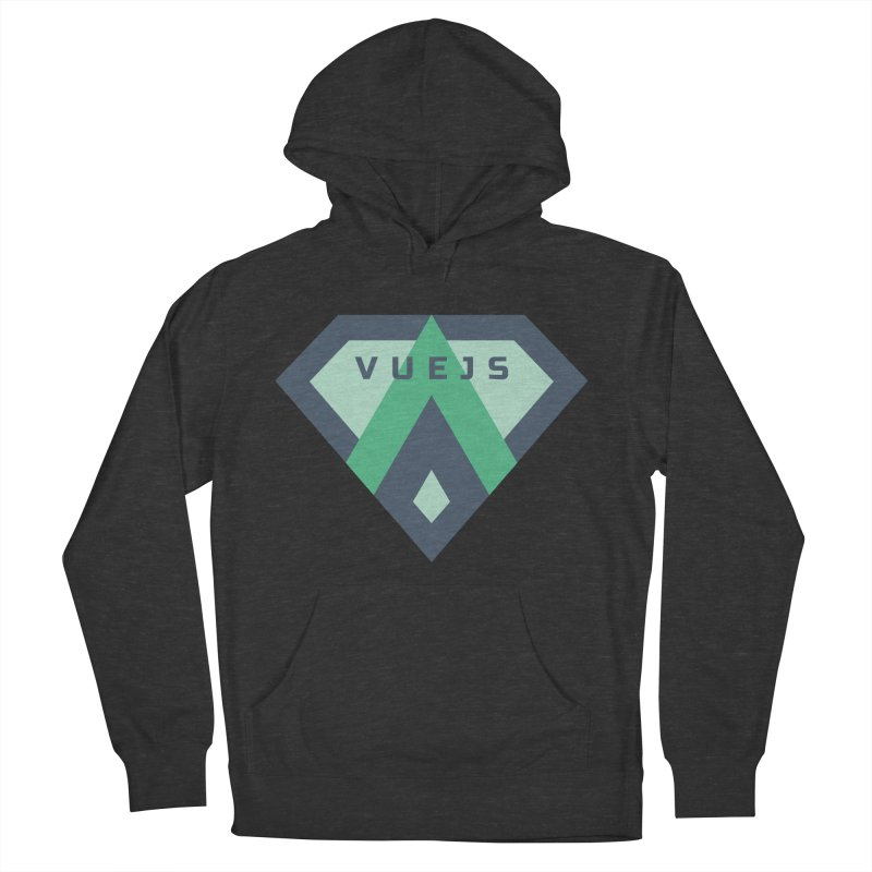 Super Vue Men's French Terry Pullover Hoody by Akryum's Shop