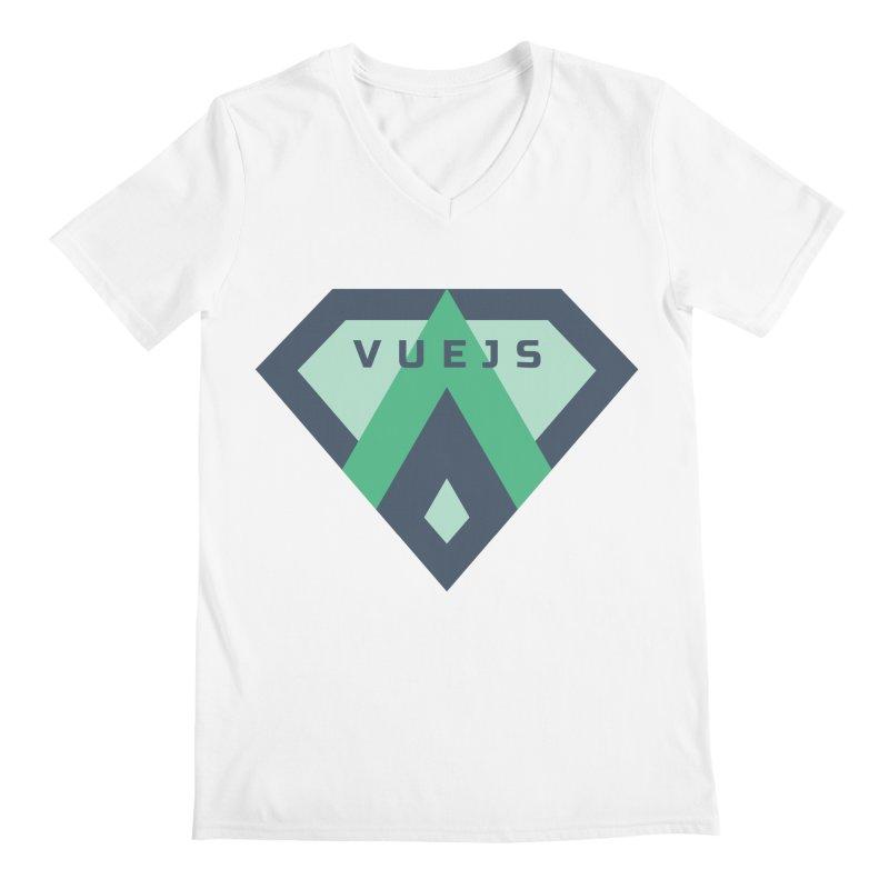 Super Vue Men's Regular V-Neck by Akryum's Shop