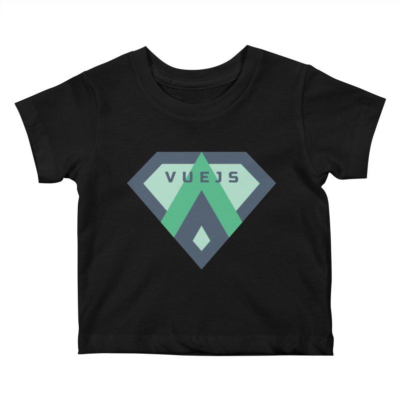Super Vue Kids Baby T-Shirt by Akryum's Shop