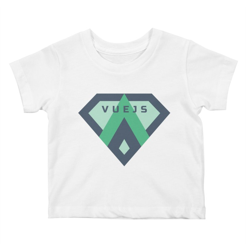 Super Vue Kids Baby T-Shirt by Akryum's Shop