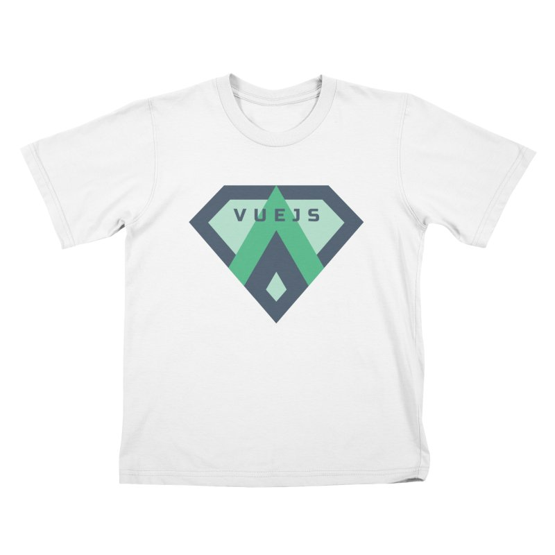Super Vue Kids T-Shirt by Akryum's Shop