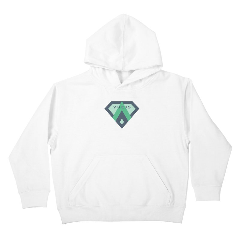 Super Vue Kids Pullover Hoody by Akryum's Shop