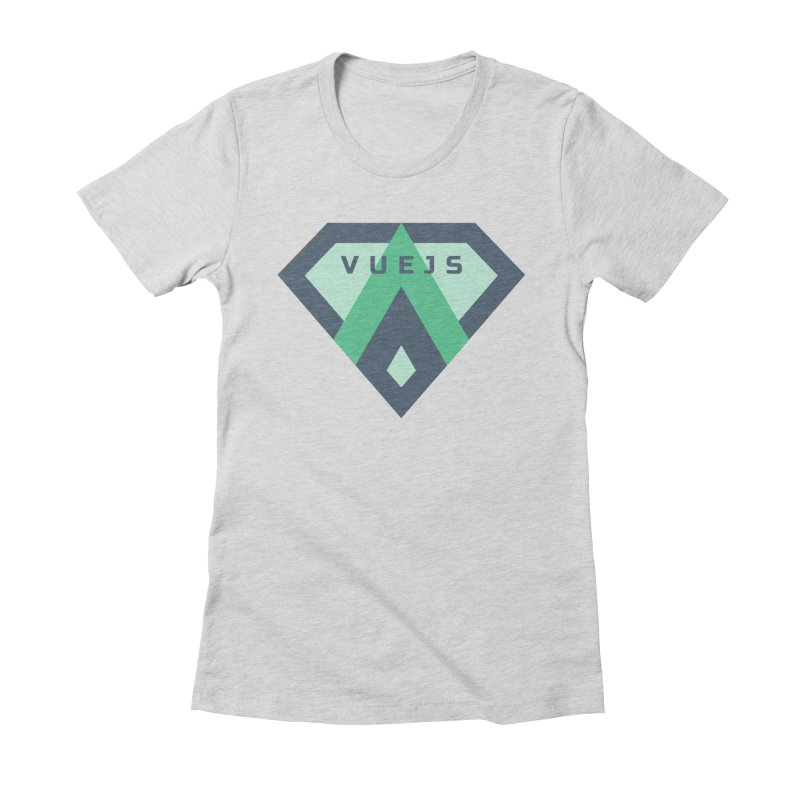 Super Vue Women's Fitted T-Shirt by Akryum's Shop