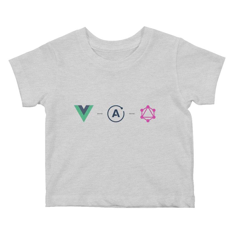 Vue, Apollo, GraphQL Kids Baby T-Shirt by Akryum's Shop