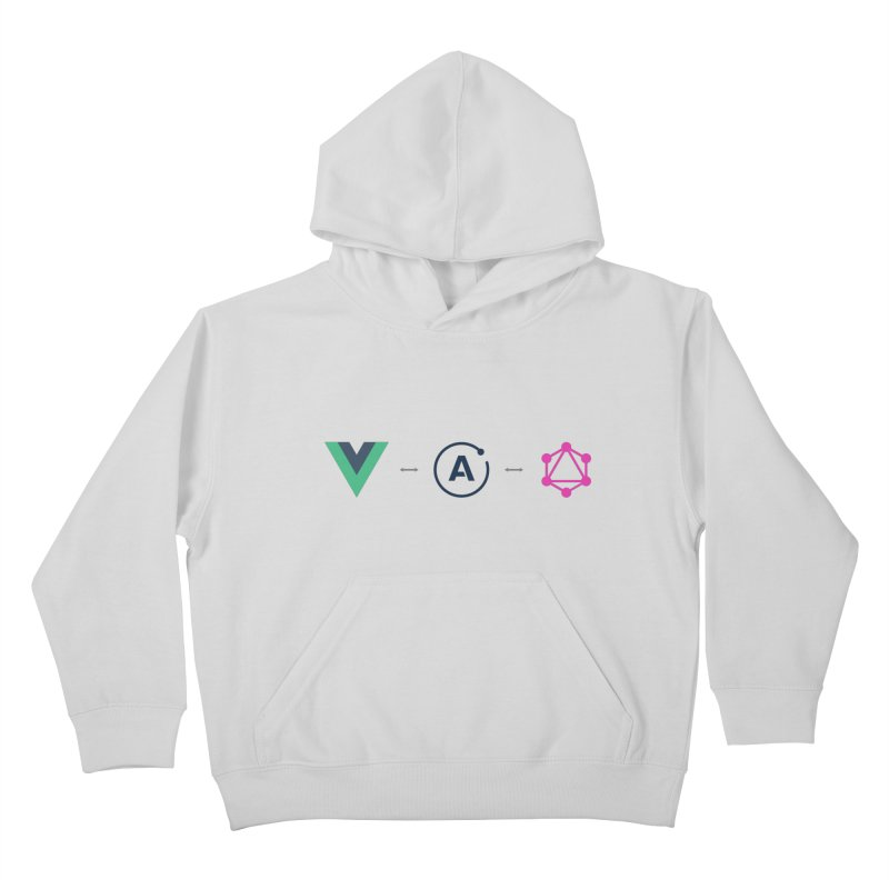 Vue, Apollo, GraphQL Kids Pullover Hoody by Akryum's Shop