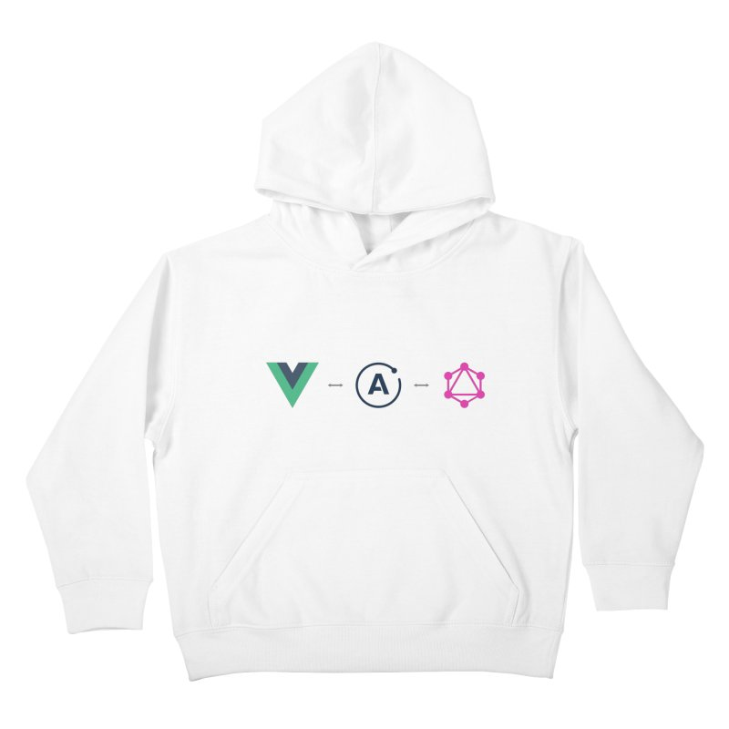 Vue, Apollo, GraphQL Kids Pullover Hoody by Akryum's Shop