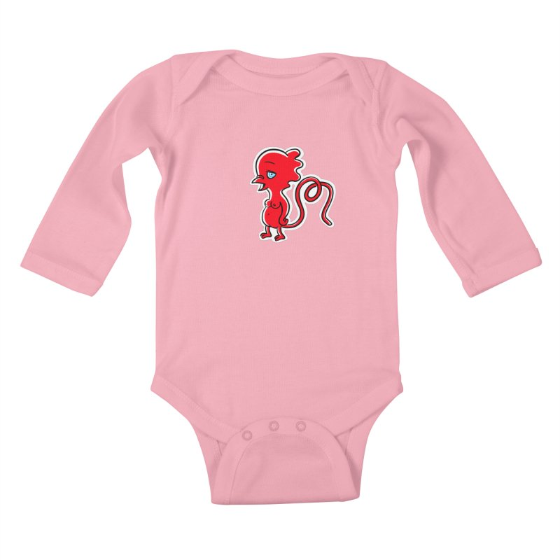 Lana Loon Kids Baby Longsleeve Bodysuit by Aktuba Ink
