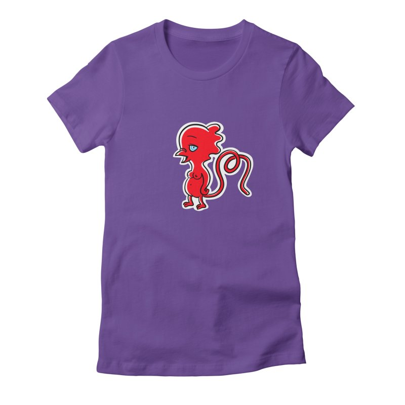 Lana Loon Women's T-Shirt by Aktuba Ink