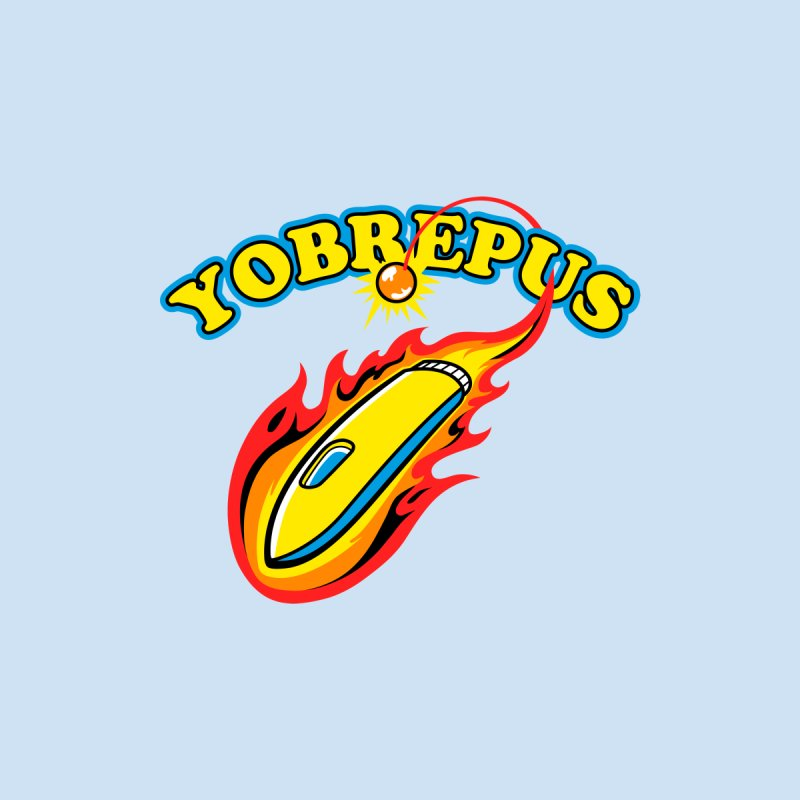 Yobrepus Logo Men's T-Shirt by Aktuba Ink