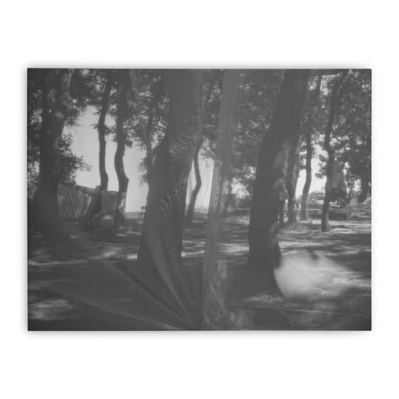 The Woods Home Stretched Canvas by akwaflorell's Artist Shop