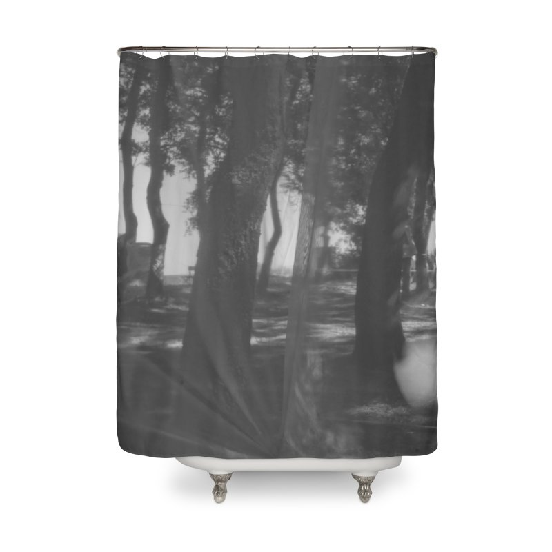 The Woods Home Shower Curtain by akwaflorell's Artist Shop