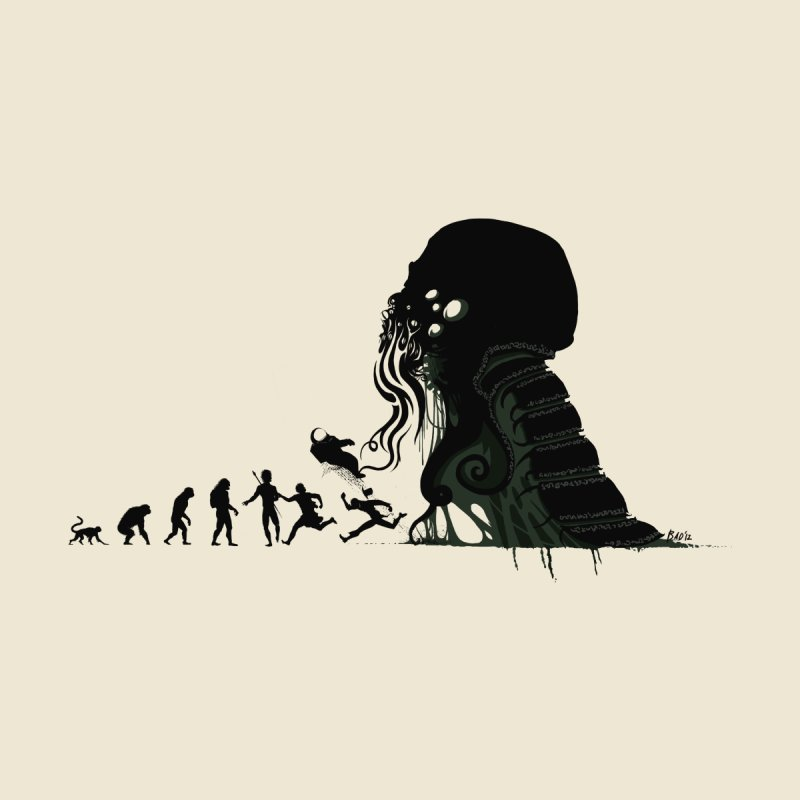 Lovecraftian Darwinism by Stuff, By Alan Bao