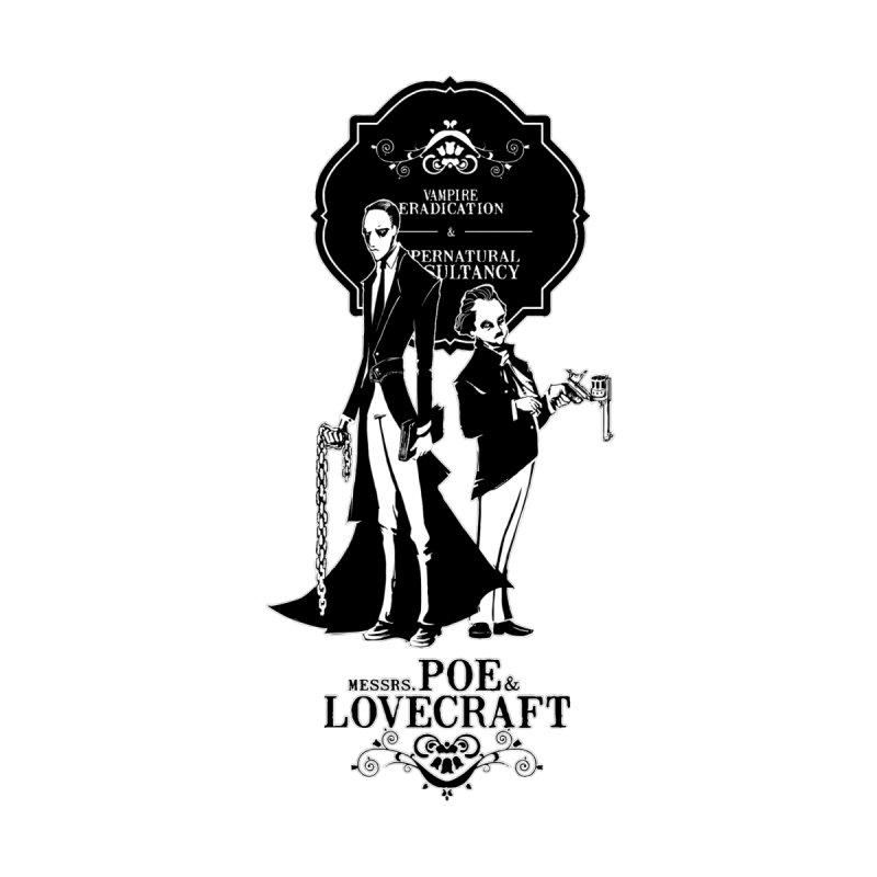 Poe & Lovecraft: Vampire Hunters by Stuff, By Alan Bao
