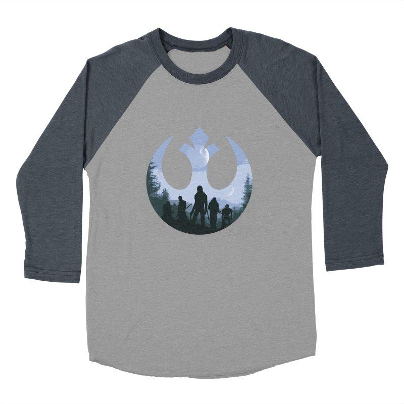 Rogue Rebels Men's Baseball Triblend T-Shirt by Stuff, By Alan Bao